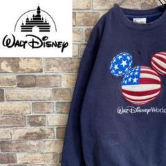"Thumbnail of ""●ディズニー●  ミッキースウェット クルーネック Disney  ロゴ"""