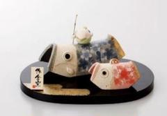 "Thumbnail of ""端午の節句を飾る★ 縁起の良い五月人形【豆武者と組鯉のぼり】"""