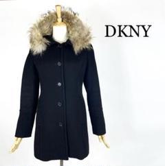 """Thumbnail of """"◎DKNY レディース ロングコート ウール  アンゴラ混 黒 ブラック M"""""""