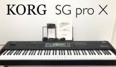 "Thumbnail of ""【名機】KORG ステージピアノ SG pro X"""