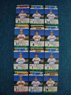 "Thumbnail of ""タカラプロ野球カード 89年 27枚"""