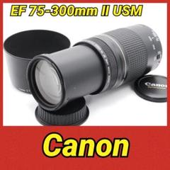 "Thumbnail of ""Canon EF 75-300mm Ⅱ USM♥️大人気♥️望遠レンズ♥️"""