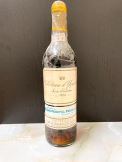 "Thumbnail of ""Chateau D'yquem 1976 Great Vintage"""