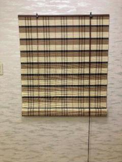 """Thumbnail of """"竹製ロールスクリーン幅88cm高さ180cmバーリー2本セット"""""""