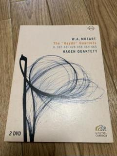 "Thumbnail of ""DVD 輸入盤 W.A.モーツァルト 弦楽四重奏曲 バーゲン四重奏団"""