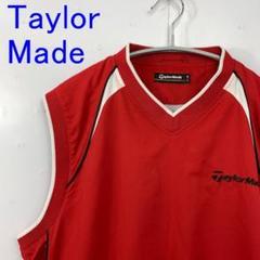 """Thumbnail of """"美品Taylor Made テーラーメイド ナイロンベスト ゴルフウェア  赤M"""""""