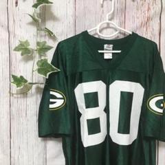 """Thumbnail of """"NFL  アメリカンフットボール ゲームシャツ グリーンベイ 80"""""""