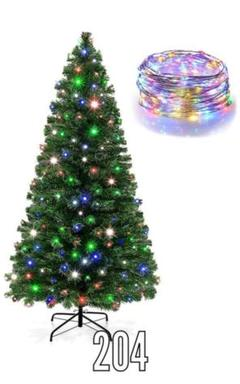 "Thumbnail of ""クリスマスツリー 150cm LEDイルミネーションライト クリqe0"""