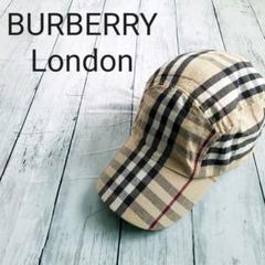 """Thumbnail of """"【レア】BURBERRY LONDON ジェットキャップ ノバチェック総柄"""""""
