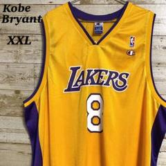 "Thumbnail of ""チャンピオン NBA ゲームシャツ Lakers レイカーズ コービー XXL"""