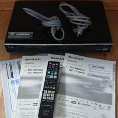 シャープ ブルーレイ AQUOS BD-HDW65