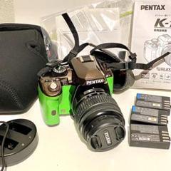 "Thumbnail of ""Pentax K-r ブラウン×グリーン"""