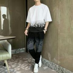 """Thumbnail of """"[男性の半袖Tシャツ夏2021年の新しいトレンドイン緩い潮のブランド26"""""""