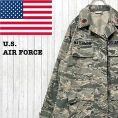 "Thumbnail of ""US AIR FORCE アメリカ空軍 カモフラージュ ミリタリー シャツ 6S"""