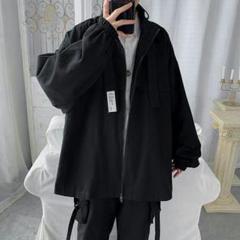 """Thumbnail of """"新cmx新しいジャケットの男性はゆったりしています。流行のごろつきジャケット3"""""""