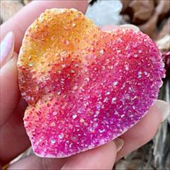 "Thumbnail of ""Heart♥レインボーオーラクォーツ♥地球最高のエネルギースポットのPOWER"""