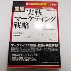 "Thumbnail of ""実戦マーケティング戦略 : 図解"""