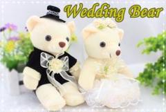 "Thumbnail of ""ウエディングベア ウエルカムベア 結婚式 2次会 パーティー ウエディング小物"""