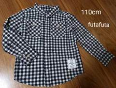 "Thumbnail of ""110cm ギンガムチェックシャツ futafuta"""