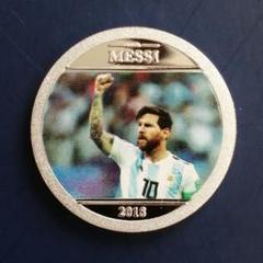 "Thumbnail of ""レア リオネル・メッシ Lionel Messi 記念 シルバー コイン メダル"""