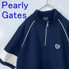 "Thumbnail of ""Pearly Gates パーリーゲイツ ゴルフウェア ハーフジップポロシャツ"""