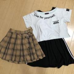 """Thumbnail of """"ラブトキ ワンピースTシャツ、スカートセット"""""""