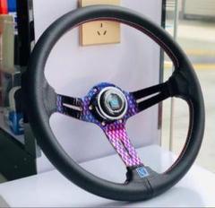 """Thumbnail of """"極品 + 自動車ハンドル ハンドルステアリング 14インチ 35cm"""""""
