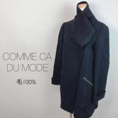 """Thumbnail of """"COMME CA DU MODE コムサデモード レディース ブラック コート"""""""