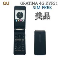 "Thumbnail of ""SIMフリー GRATINA 4G KYF31【au 京セラ】ブラック G99"""
