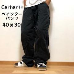"Thumbnail of ""【希少サイズ】Carhartt ペインターパンツ ダック地 ビッグサイズ  黒"""