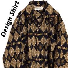 "Thumbnail of ""Design Shirt / ネイティブデザインシャツ / 柄シャツ"""