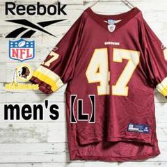 "Thumbnail of ""【NFL×Reebok】ワシントン・レッドスキンズ ゲームシャツ【メンズL】"""