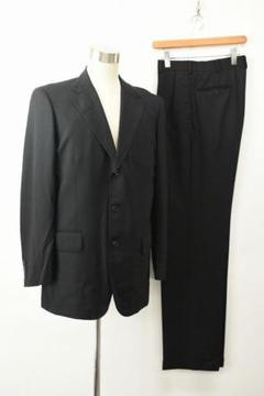 "Thumbnail of ""B1329 J.PRESS ジェイプレス メンズ スーツ セットアップ ブラック"""
