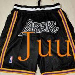 """Thumbnail of """"NBAロサンゼルスレイカーズのMVP黒のジャストドンのショーツK"""""""