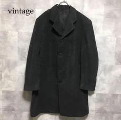 """Thumbnail of """"vintage シャドーグレー カシミヤ混 チェスターコート"""""""