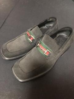 """Thumbnail of """"GUCCI ビットローファー スウェード 革靴"""""""