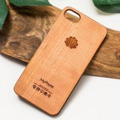 "Thumbnail of ""iPhone 木製ケース 各機種対応 (名入れ可+700円) 032"""