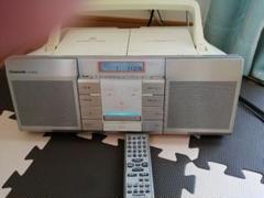 """Thumbnail of """"Panasonic CD/MDラジカセ RX-MDX85 リモコン マイク端子"""""""