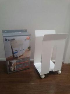 "Thumbnail of ""山崎実業 段ボール紙袋ストッカー frame ホワイト"""