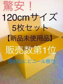 """Thumbnail of """"段ボール 120cmサイズ 5枚 引越し/引っ越し/梱包用ダンボール 新品未使用"""""""