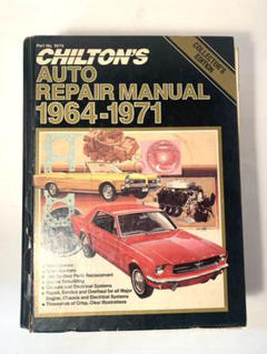 "Thumbnail of ""CHILTON`S AUTO REPAIR MANUAL 1964-1971"""