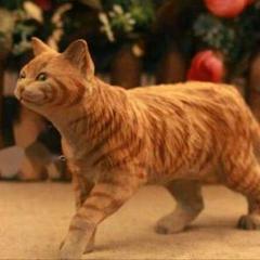 "Thumbnail of ""【限定】オリジナルの木製ニャンコ工芸品は手彫り猫置物です"""