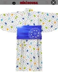 "Thumbnail of ""【美品】MIKIHOUSE カブトムシ 男の子浴衣 130 ミキハウス"""