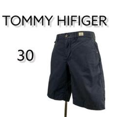 "Thumbnail of ""TOMMY HIFIGER ハーフパンツ ネイビー系 30 M 夏コーデ 短パン"""