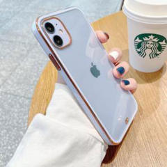 """Thumbnail of """"iPhone 12、12Pro クリア、メッキ ケース★"""""""