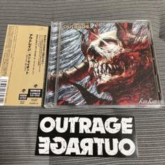 """Thumbnail of """"【美品・初回DVD・ステッカー付き】OUTRAGE / Run Riot"""""""