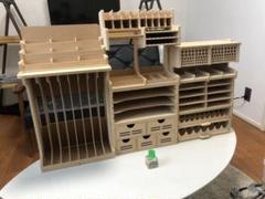 """Thumbnail of """"【送料無料】【残り2つ】プラモデル 模型 ツールラック 工具収納 ボックス"""""""