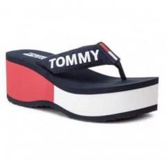 "Thumbnail of ""残り一足 新品 送料込 レトロ Tommy Jeans サンダル 25cm"""