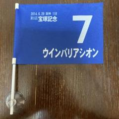 "Thumbnail of ""2014年宝塚記念 ウインバリアシオンフラッグ"""