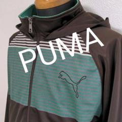 "Thumbnail of ""u56. PUMA パーカージャージブラウン"""
